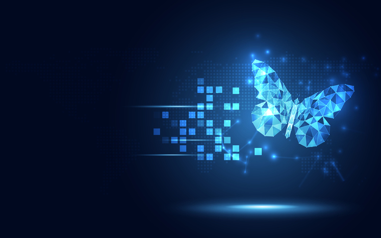 evolution, evolve, change, adapt, butterfly, technology