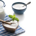 Yogurt in a bowl