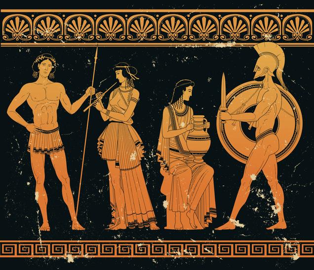 Ancient Greek art myth legend