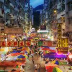Fa Yuen Street Market in Hong Kong