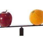 VC Apples Oranges Compare