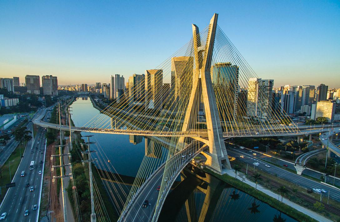 Octávio Frias de Oliveira Bridge, São Paulo, Brazil