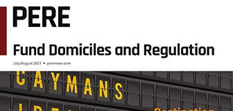 PERE Domiciles Regulations cover