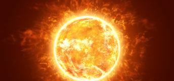 Hot Fiery Sun, solar