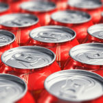 Drinks cans, coca cola,