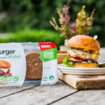 v2food Burger, plant-based burger, alternative protein