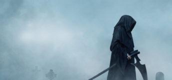 Grim Reaper, death, cemetery